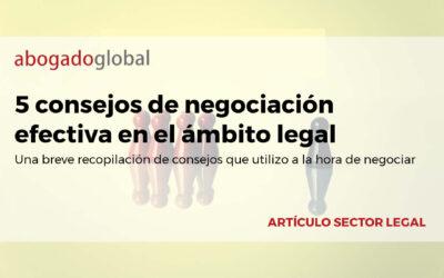 5 consejos de negociación efectiva en el ámbito legal