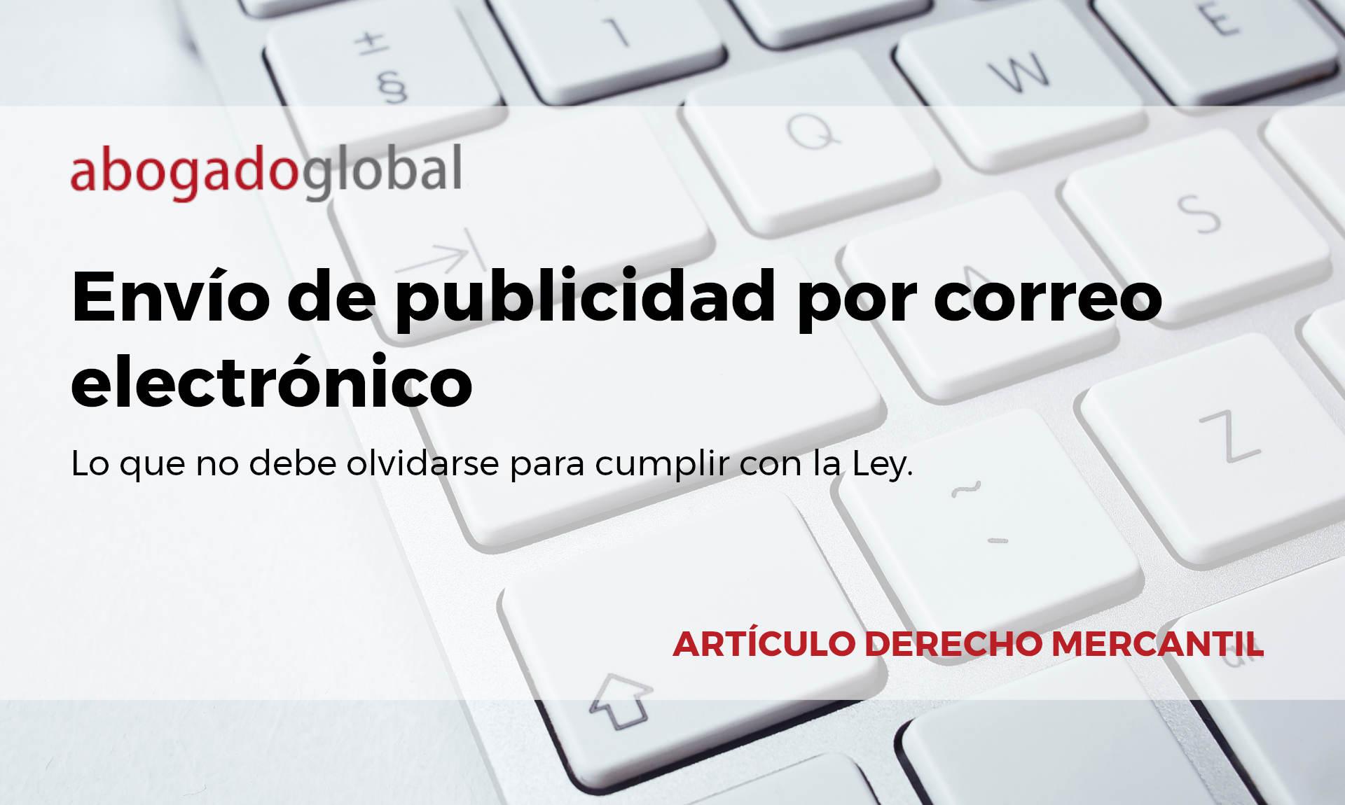 PUBLICIDAD POR CORREO ELECTRÓNICO